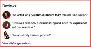 Wedding Photographer Reviews for Bipin Dattani wedding photograher