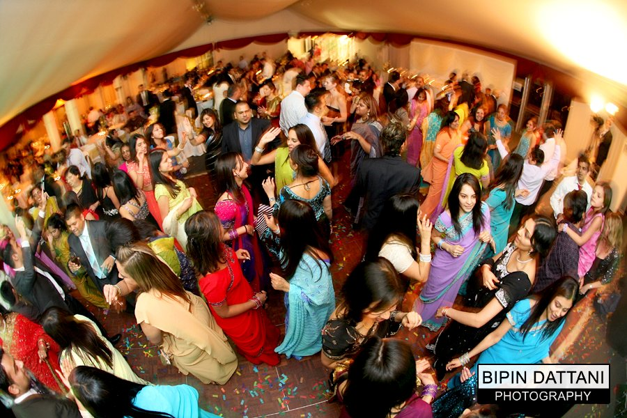 asian addington palace wedding reception and dancing