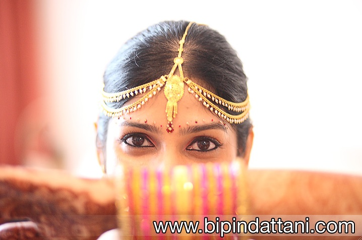 creative indian bride photo shoot